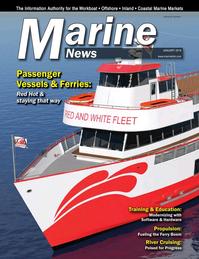 Marine News Magazine Cover Jan 2018 - Passenger Vessels & Ferries