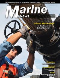 Marine News Magazine Cover May 2018 - Inland Waterways