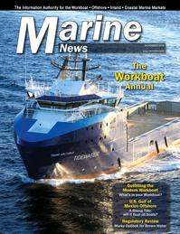 Marine News Magazine Cover Nov 2018 - Workboat Annual