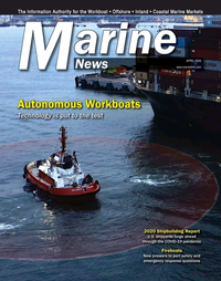 Marine News Magazine Cover Apr 2020 - Autonomous Workboats