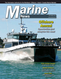 Marine News Magazine Cover Sep 2020 - Offshore Annual
