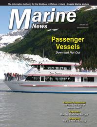 Marine News Magazine Cover Jan 2021 - Passenger Vessels