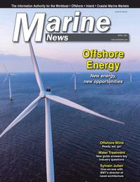 Marine News Magazine Cover Apr 2021 - Offshore Energy