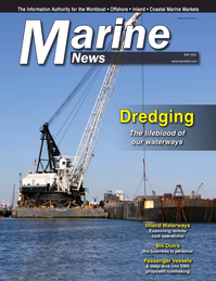 Marine News Magazine Cover May 2021 - Dredging