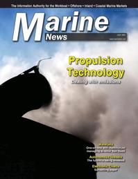 Marine News Magazine Cover Jul 2021 - Propulsion Technology