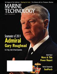 Marine Technology Magazine Cover Jun 2011 - Hydrographic Survey