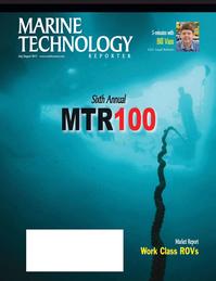 Marine Technology Magazine Cover Jul 2011 - MTR100 Edition