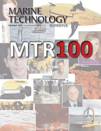 Marine Technology Magazine Cover Jul 2014 - MTR100