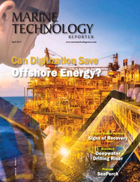 Marine Technology Magazine Cover Apr 2017 - Offshore Energy Annual