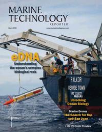 Marine Technology Magazine Cover Mar 2020 -