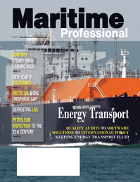 Maritime Logistics Professional Magazine Cover Q2 2011 - Energy Transportation