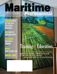 Maritime Logistics Professional Magazine Cover Q3 2011 - Maritime Security / Maritime Training & Education