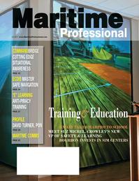 Maritime Logistics Professional Magazine Cover Q3 2011 - Maritime Security / Maritime Training & Education