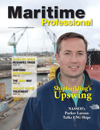Maritime Logistics Professional Magazine Cover Q4 2013 - Shipbuilding, Repair