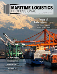 Maritime Logistics Professional Magazine Cover Jul/Aug 2017 - PORTS & INFRASTRUCTURE