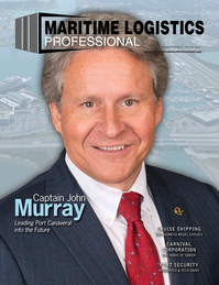 Maritime Logistics Professional Magazine Cover Jan/Feb 2018 - Cruise Shipping Trends