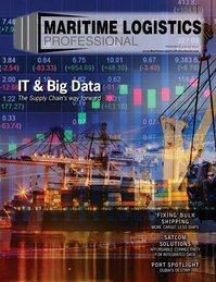 Maritime Logistics Professional Magazine Cover Mar/Apr 2018 - IT & Software