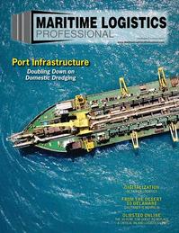 Maritime Logistics Professional Magazine Cover Jul/Aug 2018 - Port Infrastructure & Development