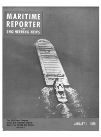 Maritime Reporter Magazine Cover Jan 1969 -