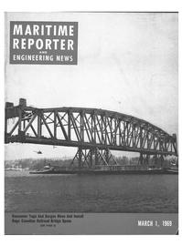 Maritime Reporter Magazine Cover Mar 1969 -