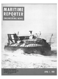 Maritime Reporter Magazine Cover Apr 1969 -