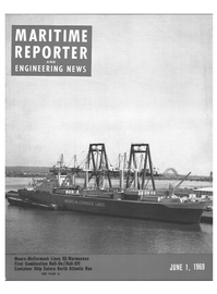 Maritime Reporter Magazine Cover Jun 1969 -