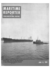 Maritime Reporter Magazine Cover Jun 15, 1969 -