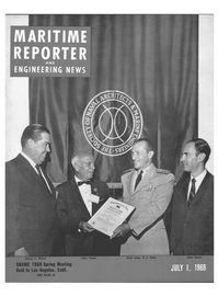 Maritime Reporter Magazine Cover Jul 1969 -