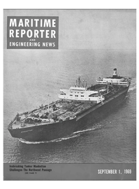 Maritime Reporter Magazine Cover Sep 1969 -