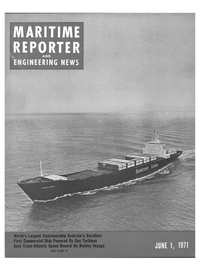 Maritime Reporter Magazine Cover Jun 1971 -