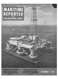 Maritime Reporter Magazine Cover Dec 1973 -