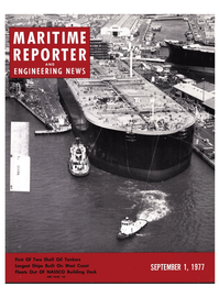 Maritime Reporter Magazine Cover Sep 1977 -