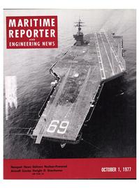 Maritime Reporter Magazine Cover Oct 1977 -