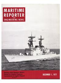 Maritime Reporter Magazine Cover Dec 1977 -