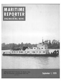 Maritime Reporter Magazine Cover Sep 1978 -