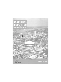 Maritime Reporter Magazine Cover Jan 15, 1980 -