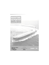 Maritime Reporter Magazine Cover Dec 1980 -