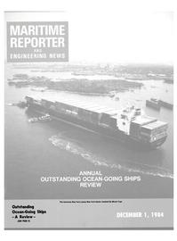 Maritime Reporter Magazine Cover Dec 1984 -
