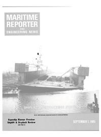 Maritime Reporter Magazine Cover Sep 1985 -