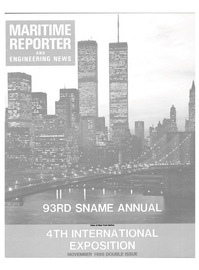 Maritime Reporter Magazine Cover Nov 1985 -