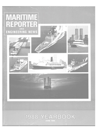 Maritime Reporter Magazine Cover Jun 1988 -