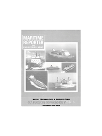 Maritime Reporter Magazine Cover Dec 1989 -
