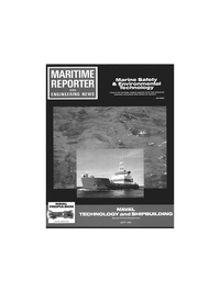 Maritime Reporter Magazine Cover Sep 1991 -