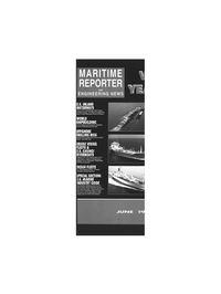 Maritime Reporter Magazine Cover Jun 1993 -