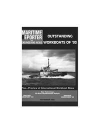 Maritime Reporter Magazine Cover Nov 1993 -