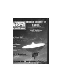 Maritime Reporter Magazine Cover Jul 1995 -
