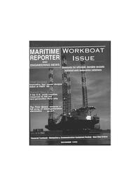Maritime Reporter Magazine Cover Nov 1995 -