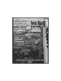 Maritime Reporter Magazine Cover Apr 1996 -