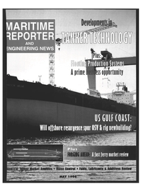 Maritime Reporter Magazine Cover May 1996 -
