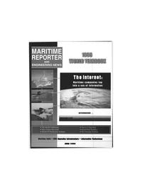 Maritime Reporter Magazine Cover Jun 1996 -